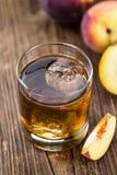 Tasty peach ice tea (selective focus) Royalty Free Stock Photos