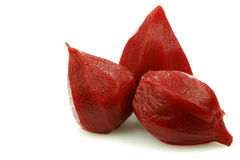 Tasty pickled beetroots Royalty Free Stock Images