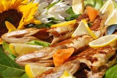 Tasty pike perch fish Stock Photo