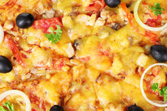 Tasty pizza Stock Image