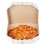 Tasty pizza in the package Royalty Free Stock Photo