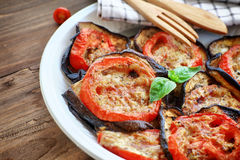Tasty pizza topping Stock Images