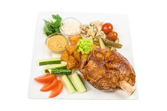 Tasty pork Stock Photo