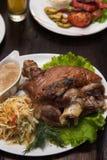Tasty Pork Shank Royalty Free Stock Images