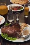 Tasty Pork Shank Royalty Free Stock Photography