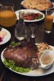 Tasty Pork Shank Stock Image