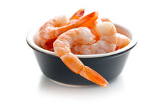 Tasty prawns Royalty Free Stock Images