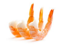 Tasty prawns Stock Photography