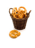 Tasty pretzels Stock Photo