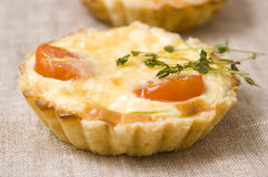 Tasty quiche Royalty Free Stock Photos