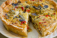 Tasty quiche Royalty Free Stock Photo
