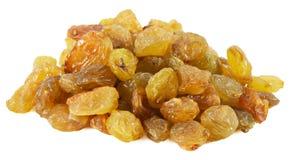 Tasty raisins isolated on the white background Royalty Free Stock Images