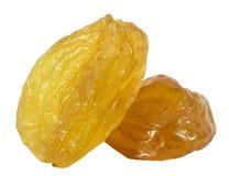 Tasty raisins isolated on the white background Stock Photography