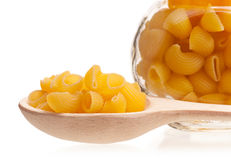 Tasty raw macaroni Stock Photos