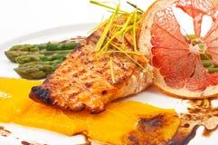 Tasty red fish Royalty Free Stock Photo