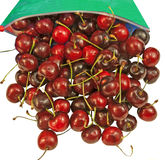 Tasty red fresh Cherries Royalty Free Stock Photography