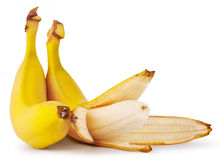 Tasty ripe bananas Stock Photos