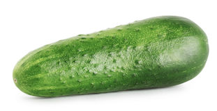 Tasty ripe cucumber Stock Images
