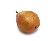 Tasty ripe green pear Anjou, isolated Stock Image