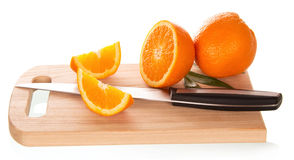 Tasty ripe oranges Royalty Free Stock Photography