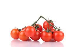 Tasty ripe tomatoes-cherry. Stock Photography