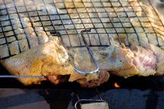 Tasty roast duck Stock Photo