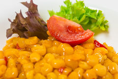 Tasty roasted corn with paprika. Stock Photography
