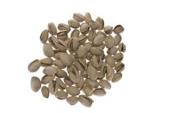 Tasty Roasted Pistachios Royalty Free Stock Photography