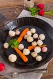 Tasty roasted radishes Royalty Free Stock Photography