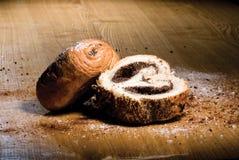 Tasty rolls with a poppy Stock Photo