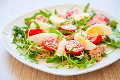 Tasty Salad For Dinner Royalty Free Stock Image