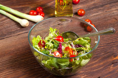 Tasty salad. Royalty Free Stock Photo
