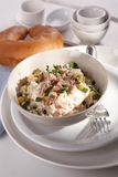 Tasty salad with tuna Stock Images