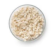 Tasty salted popcorn. Royalty Free Stock Image
