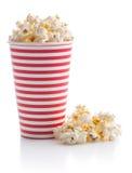 Tasty salted popcorn. Royalty Free Stock Photo