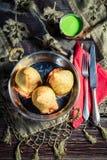 Tasty samosa with meat Stock Photography