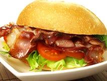 Tasty sandwich, closeup Stock Photo