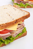 Tasty Sandwiches Stock Photography