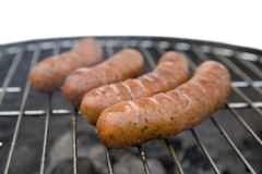 Tasty sausages Stock Photo