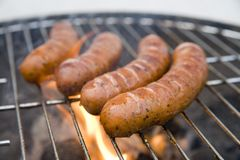 Tasty sausages Royalty Free Stock Photography