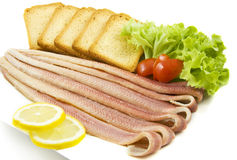 Tasty sea eel Stock Image