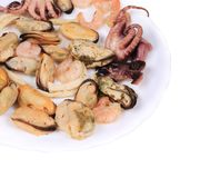 Tasty seafood. Royalty Free Stock Photos