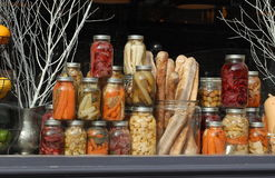 Home Canned Goods Royalty Free Stock Photos