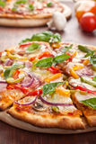 Tasty Sliced Pizza Royalty Free Stock Photos