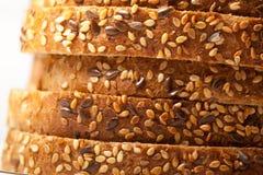 Tasty sliced raisin bread. Fresh tasty sliced raisin bread. stuido shot Royalty Free Stock Photos