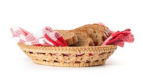 Tasty sliced rye bread Stock Photography