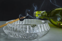 Tasty Smoke Stock Photos