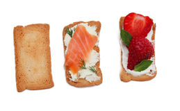 Tasty snacks Stock Photos