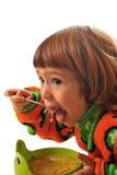 Tasty soup Stock Image