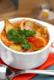 Tasty soup  Royalty Free Stock Images